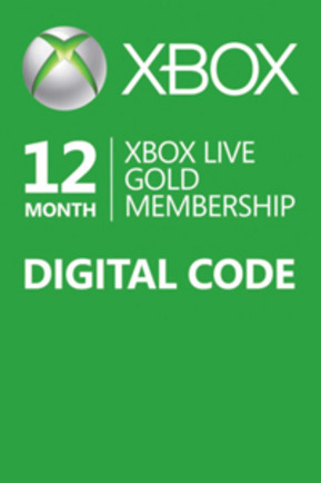 XBOX LIVE GOLD 12 MONTHS (GLOBAL) SCAN