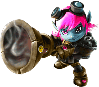 League of Legends Riot Tristana skin + hero (RU/CIS)