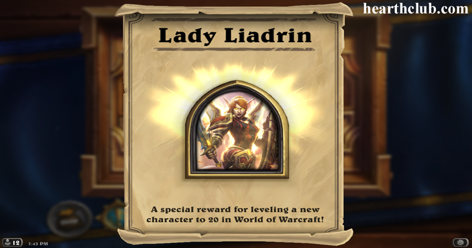 Portrait of a paladin Liadrin
