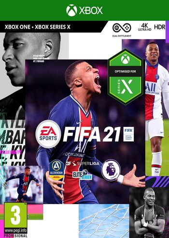 ✅⚽FIFA 21 Standard Edition Xbox One/Series KEY+CASHBACK