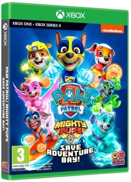 ✅🐶PAW Patrol Mighty Pups Save Adventure Bay XBOX 🔑