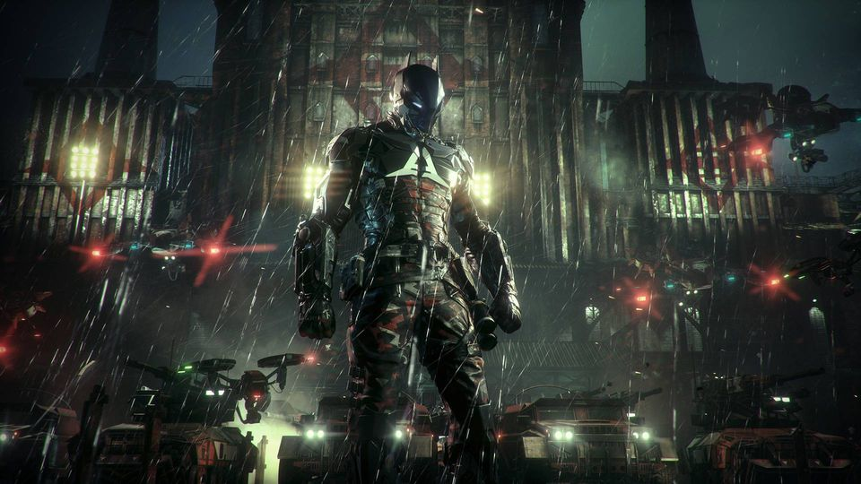 BATMAN:ARKHAM KNIGHT - Steam (ROW)