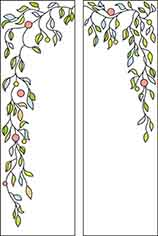 Template for stained glass C-246
