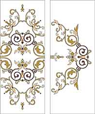 Pattern for Stained-glass window K-2020