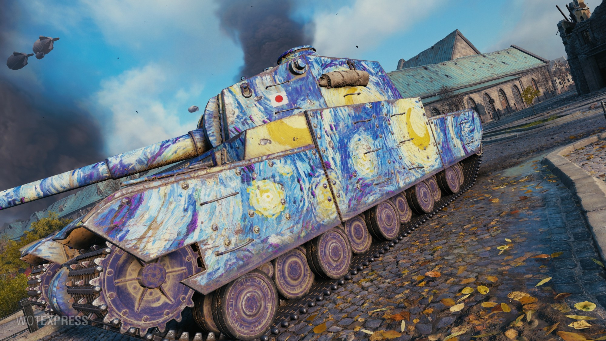 [Twitch Prime] World of Tanks (WoT) - Starry Night  🎮