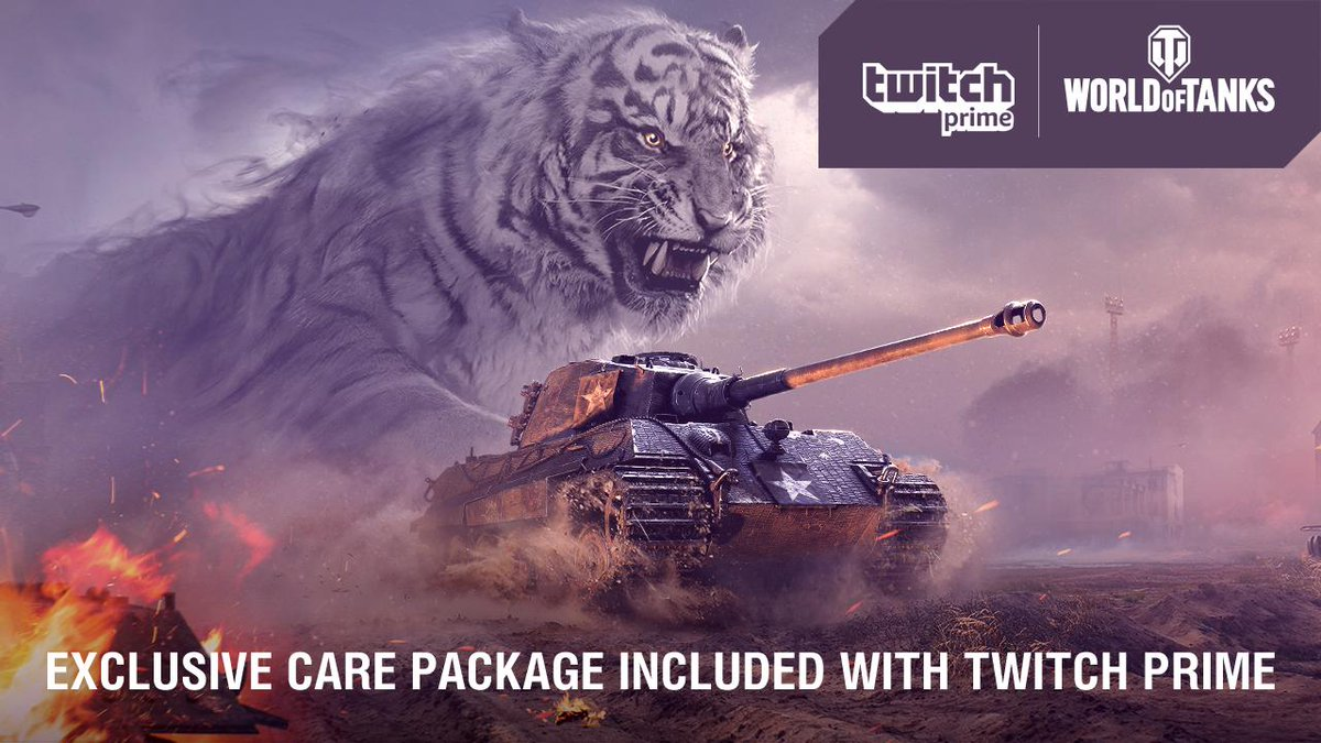 [Twitch Prime] World of Tanks (WoT) - Package June  🎮