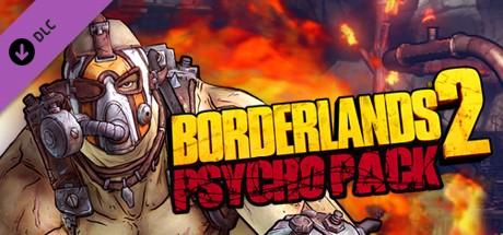 BORDERLANDS 2 - PSYCHO PACK [DLC][STEAM][CD-KEY][ROW]