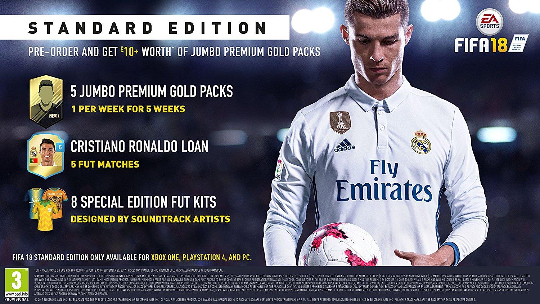FIFA 18 - PRE-ORDER BONUS [Region Free][ORIGIN][CD KEY]