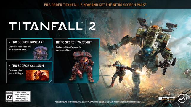Titanfall 2 - Nitro Scorch Pack [DLC][Origin][CD-Key]
