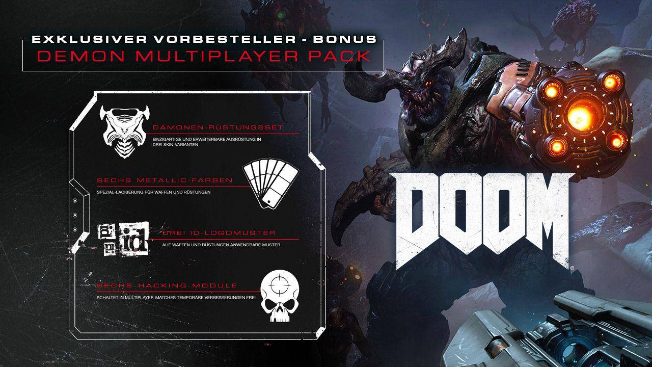 Doom - Demon Multiplayer Pack DLC [Steam][CD-Key]