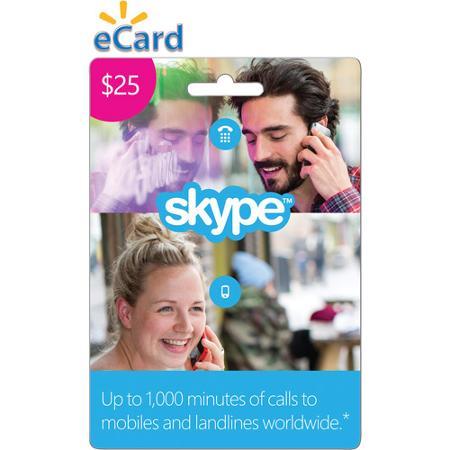 Skype $25 Credit Voucher + BONUS 2019