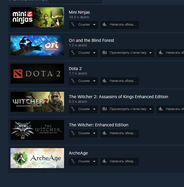 The Witcher 2+The Witcher+Ori and the Blind Forest+Min.