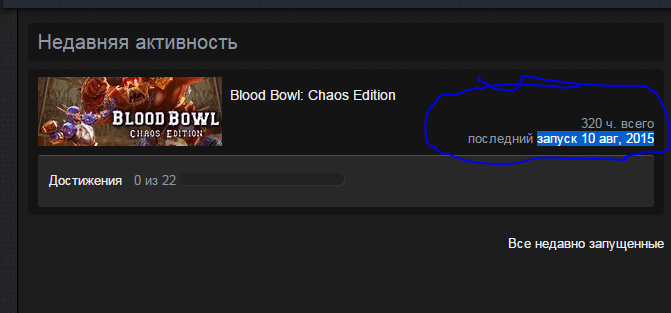 Blood Bowl: Chaos Edition - last 10 aug, 2015.
