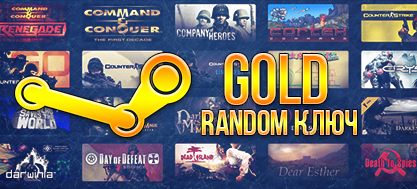 Random steam key VIP