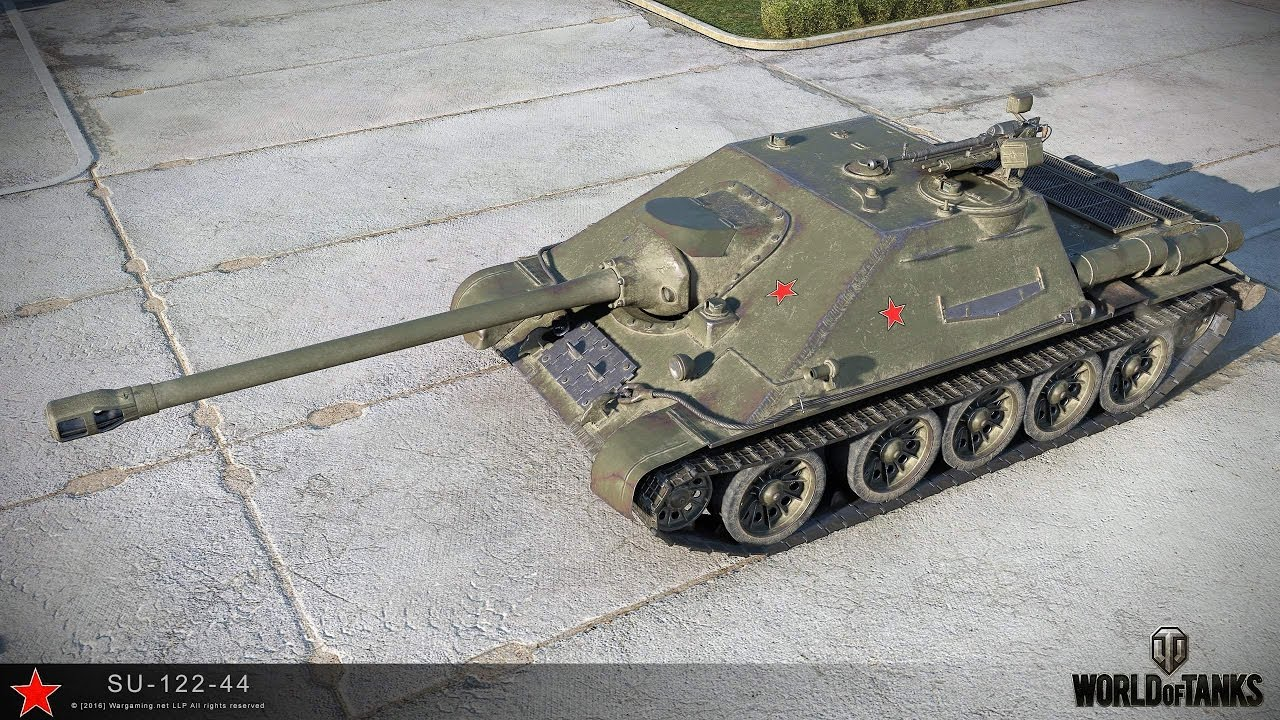 WOT account with premium tank SU-122-44 2019
