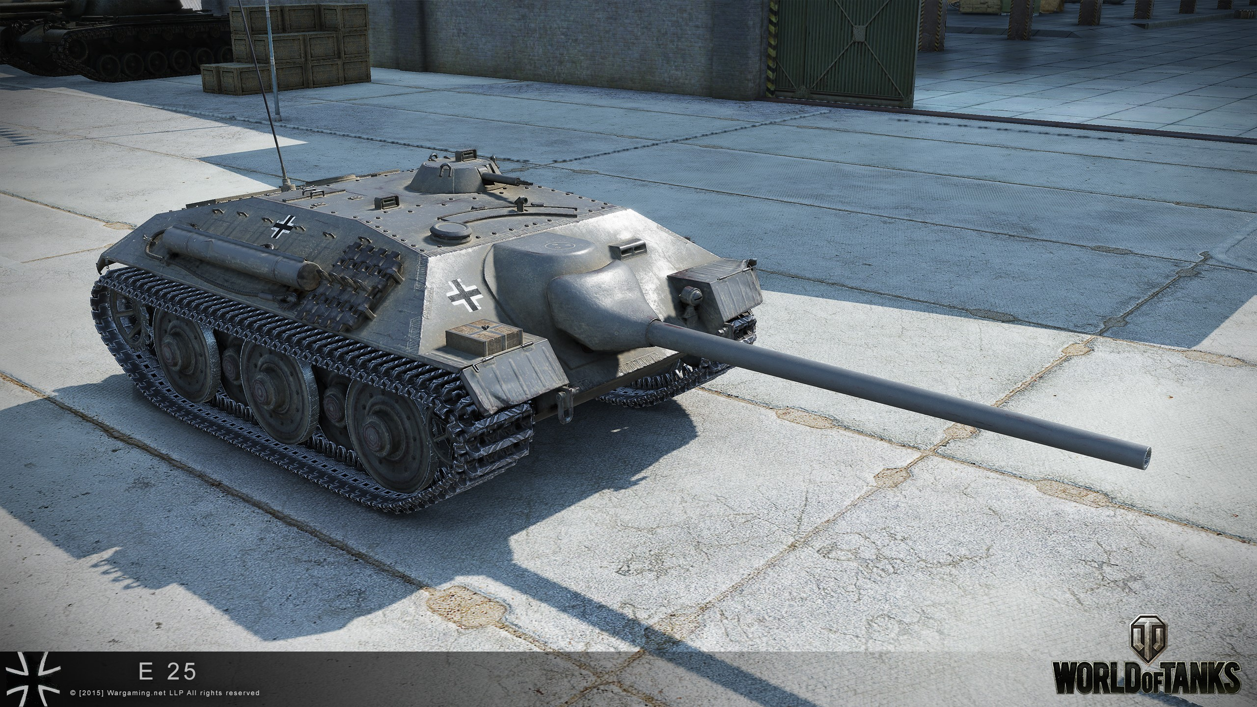 WOT account with premium tank E 25 2019