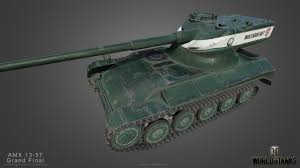 WOT account with premium tank AMX 13 57 GF 2019
