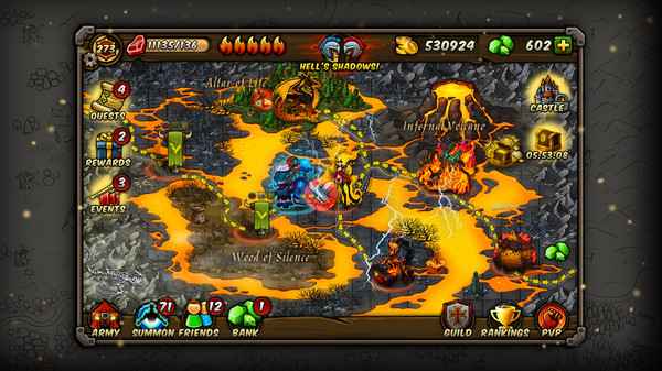 Forge of Gods Infernal War Pack DLC (Steam key/ROW)
