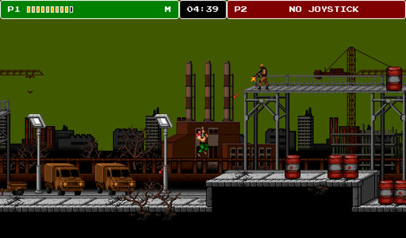 8-Bit Commando (Steam key/Region free)