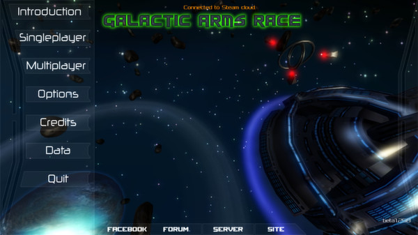 Galactic Arms Race (Steam key/Region free)