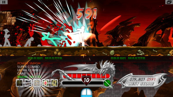 One Finger Death Punch (Steam key/ROW)