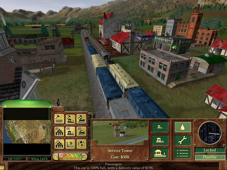 Railroad tycoon 3 download (2003 strategy game).