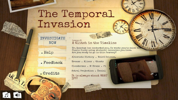 The Temporal Invasion (Steam key/Region free)