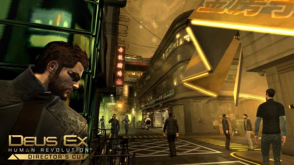 Deus Ex: Human Revolution - Director´s Cut (Steam/RU)