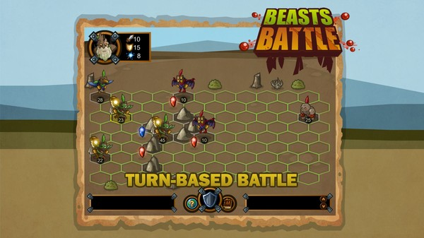 Beasts Battle (Steam key/Region free)