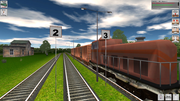 Rail Cargo Simulator (Steam key/Region free)