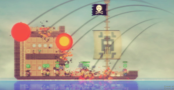 Pixel Piracy (Steam key/Region free)