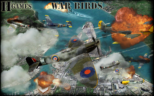 War Birds: WW2 Air strike 1942 (Steam key/Region free)
