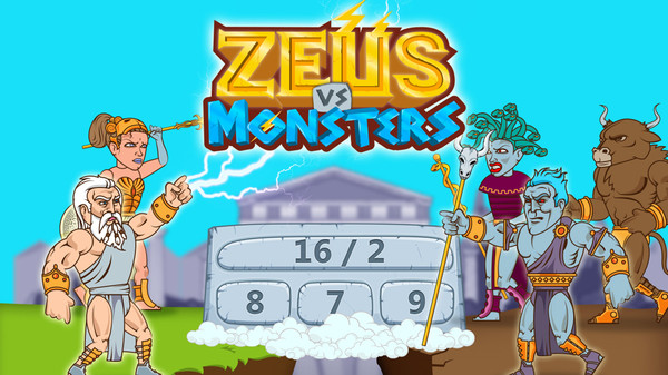 Zeus vs Monsters - Math Game for kids (Steam key)
