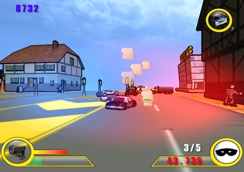 Police: Destruction Street (Steam key)