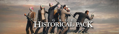 PAYDAY 2: Gage Historical Pack DLC(Steam / Ru-CIS)