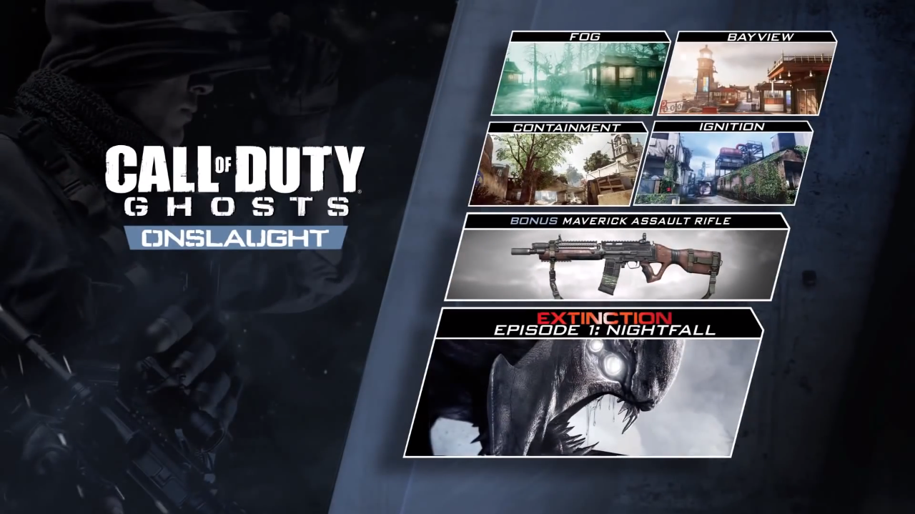 Call of Duty: Ghosts DLC 1 Onslaught (Steam) + ПОДАРОК