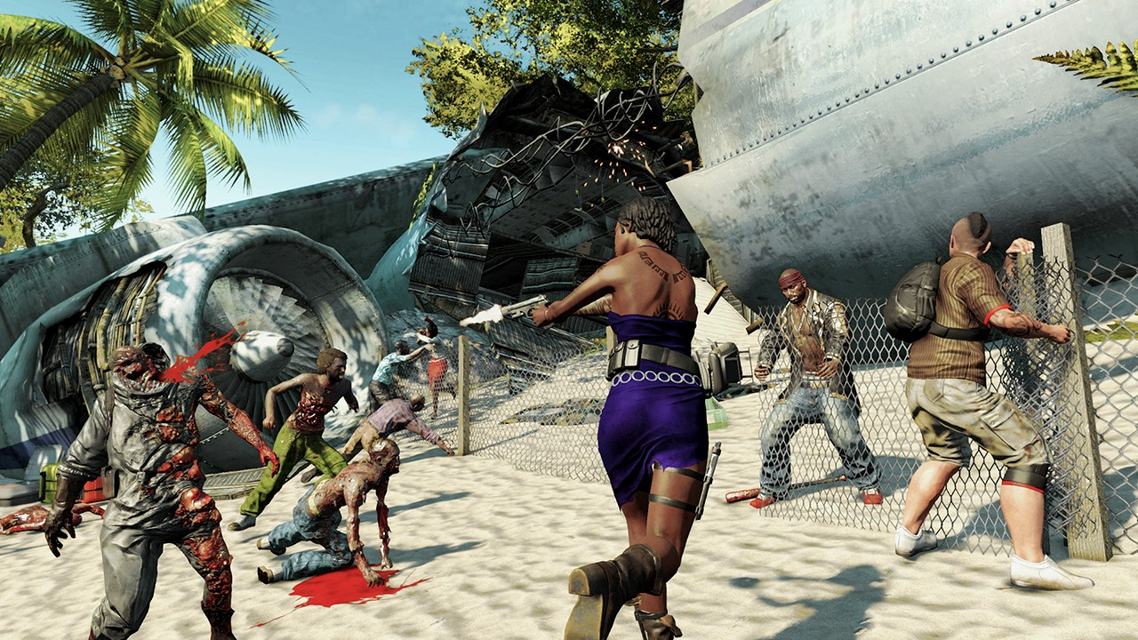 Порно косплеи на игру dead island