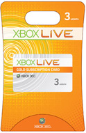 xBox Live! - Gold (worldwide) - 3 months