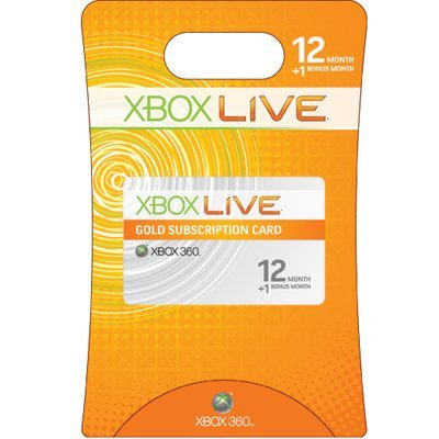 xBox Live! - Gold (all regions) - 12 months