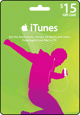 iTunes USA 15$ Gift Card - recharge card iTunes