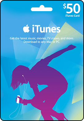 iTunes USA 50 $ Gift Card