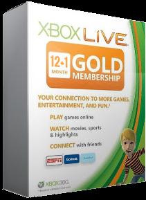 Купить xBox Live! - Gold (все регионы) - 13 месяцев