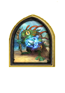 Portrait of Hearthstone Morgl the Oracle and Gift