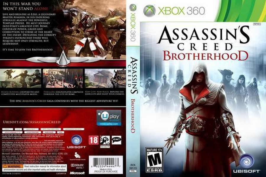 ✅⭐✅ Assassin´s Creed Brotherhood XBOX 360❤️🎮
