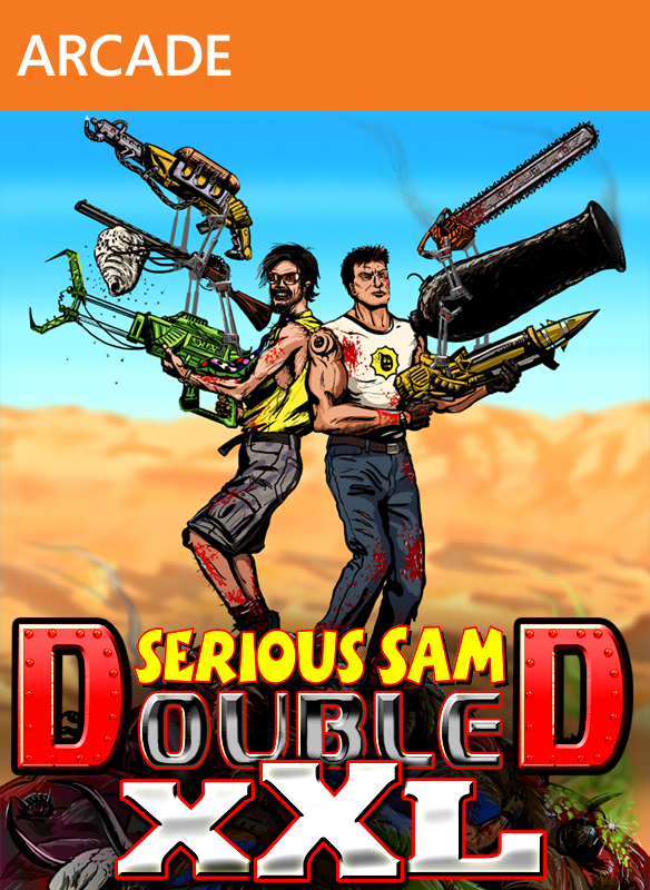 Serious Sam 3 +Jewel of the Nile +Double D XXL XBOX 360