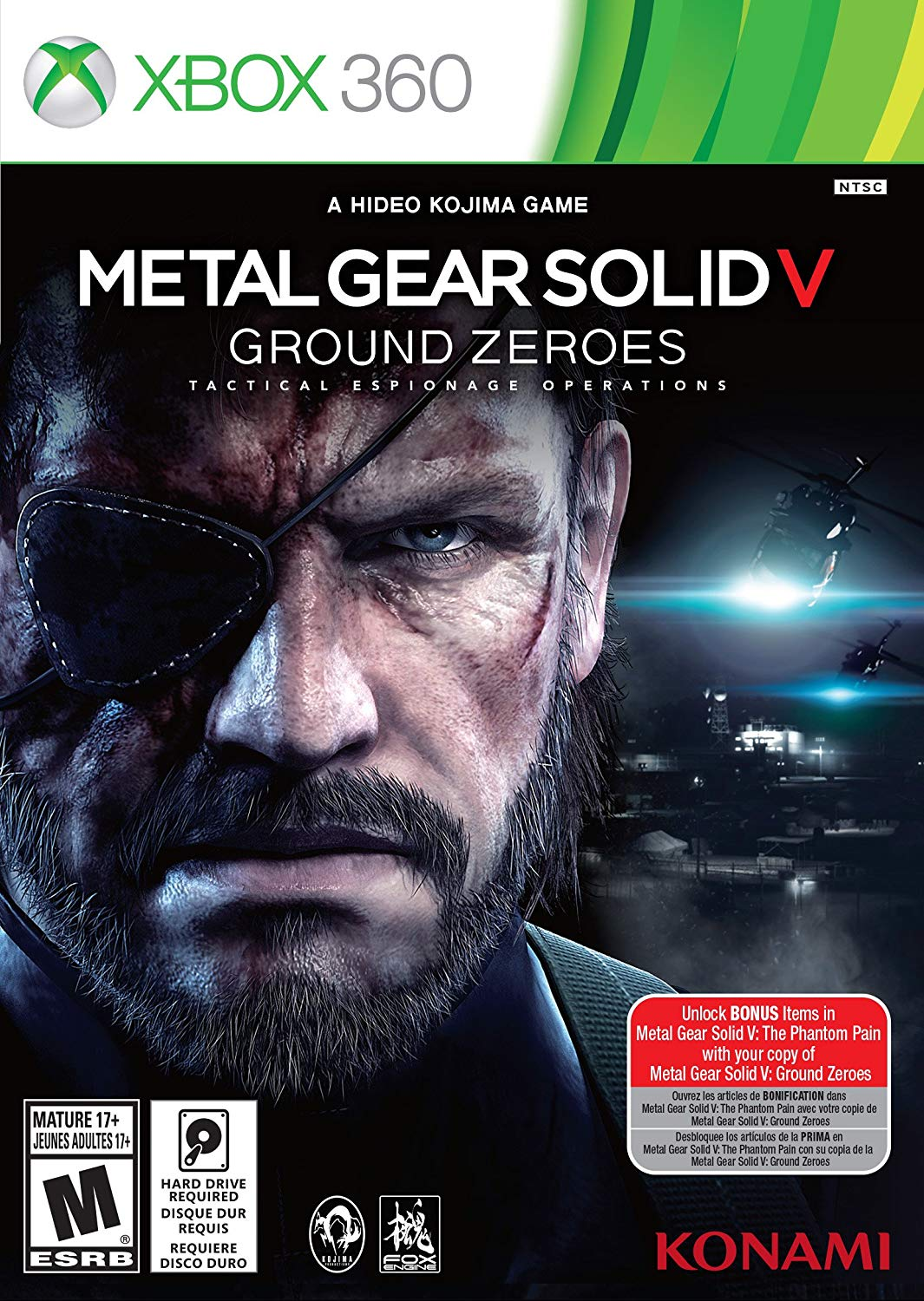 MGS V Ground Zeroes + DiRT 3 (XBOX 360) General account