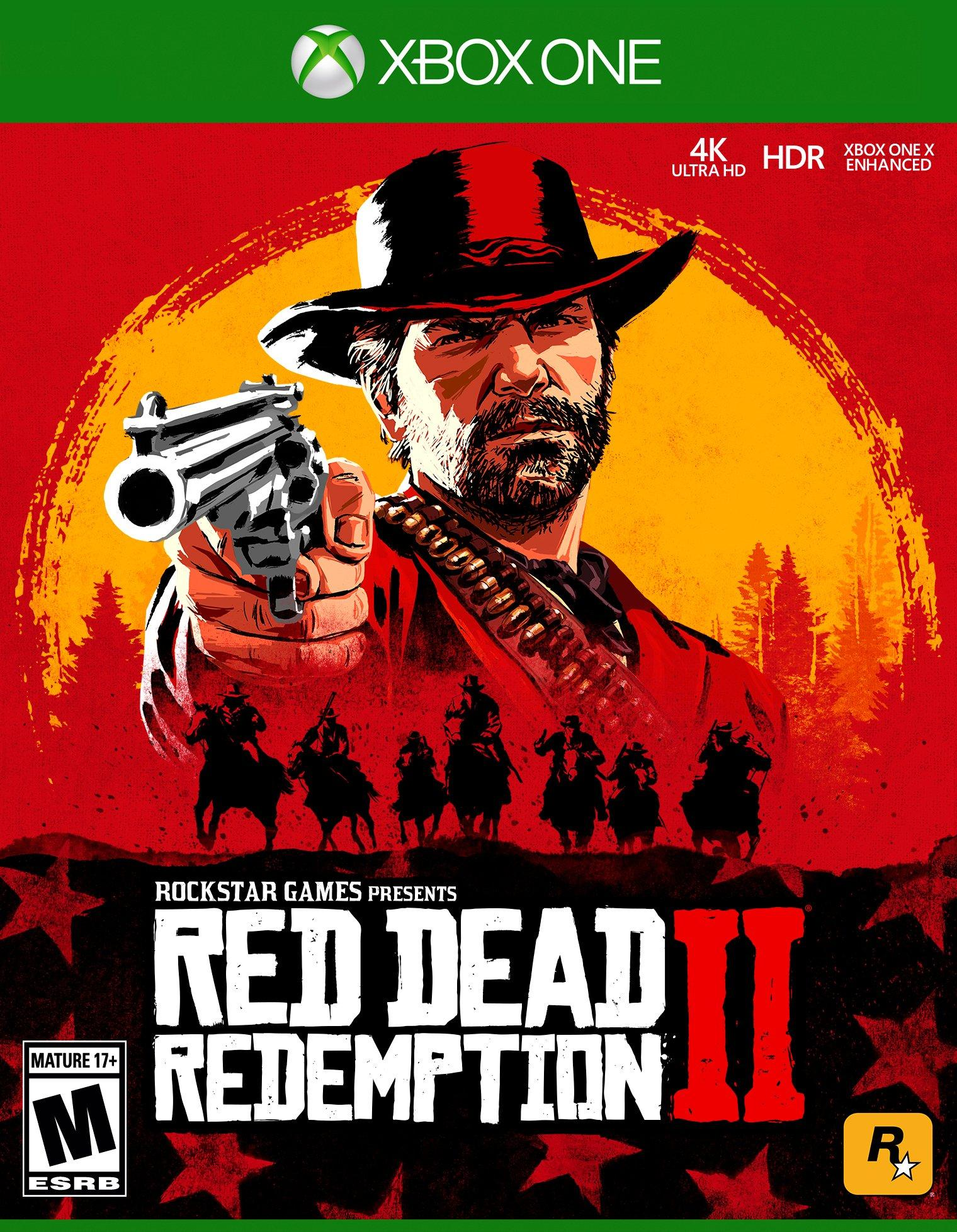✅⭐✅ Red Dead Redemption 2 + 4 GAMES XBOX ONE❤️🎮