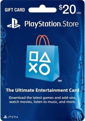 Sony Playstation Network 20$ USA + Big Discounts
