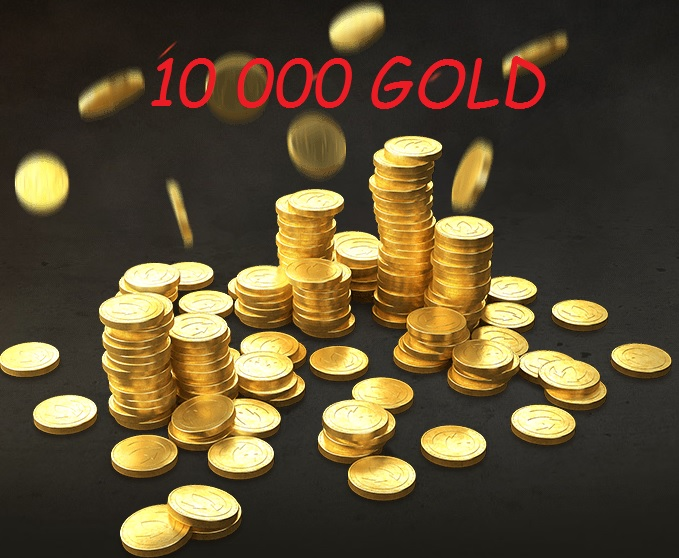 10,000 gold limited offer RU claster