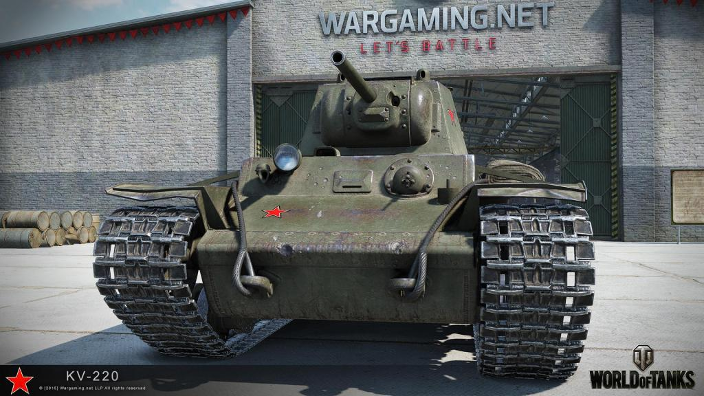 Бонус-код World of Tanks: танк КВ-220-2 + 1500 золота